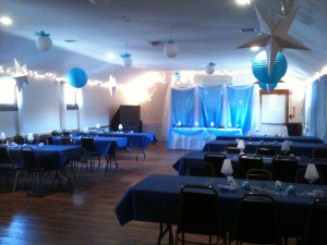 Rent our Hall for a special occasion.